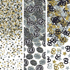 60 Años Sparkling Celebration Confetti