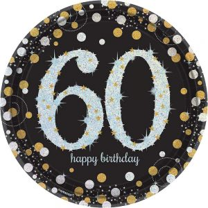 60 Años Sparkling Celebration Platos Lunch (Copy)