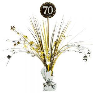 70 Años Sparkling Celebration Centro de Mesa