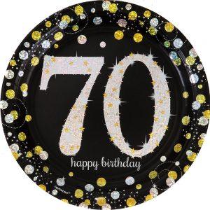 70 Años Sparkling Celebration Platos Lunch