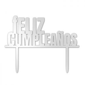 Feliz Cumpleaños Topper