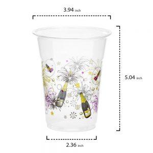 Año Nuevo – Vasos – 16oz