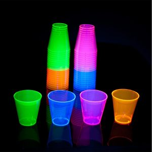Vasos shots Neon 2 oz