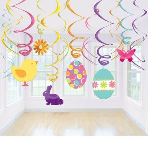 Cute Easter Espirales Decorativos