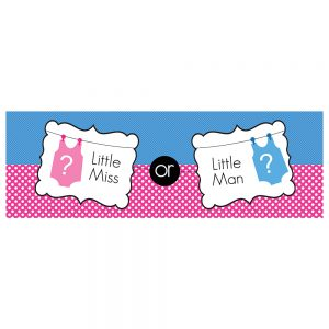 Baby | Little Miss or Little Man Banner