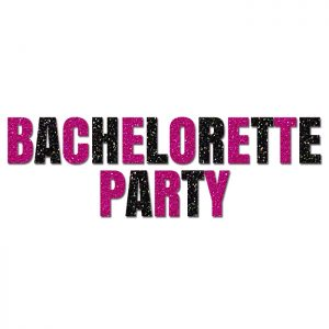 Bachelorette Party – Glitter Banner