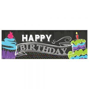 Birthday Chalk Banner