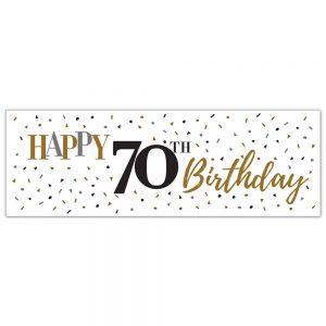 Birthday 70 Classy Banner