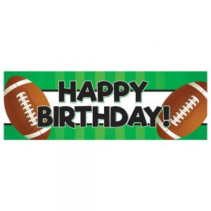 Birthday Football Green