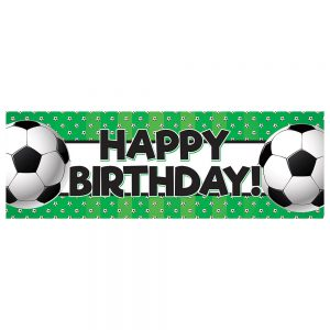 Birthday Soccer Green
