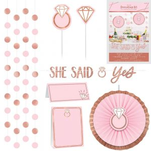 Blush & Gold Treat Table Decor Kit