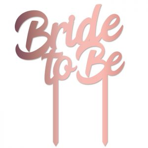 Bride to Be Topper