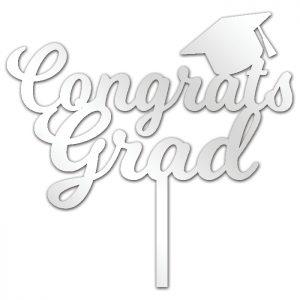 Congrats Grad Script Topper