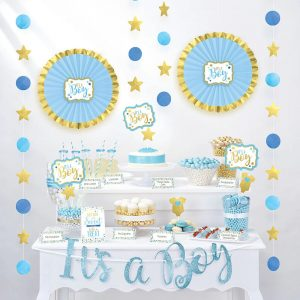 It´s a Boy Treat Table Decorating Kit