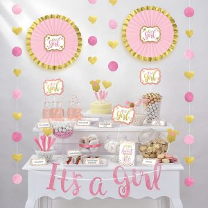It´s a Girl Treat Table Decorating Kit (Copy)