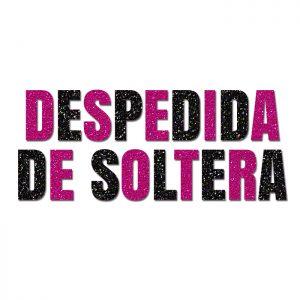 Despedida de Soltera – Glitter Banner