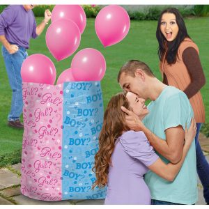Girl or Boy Gender Reveal Globos Latex