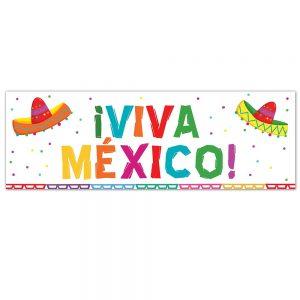 Viva México Colours Banner