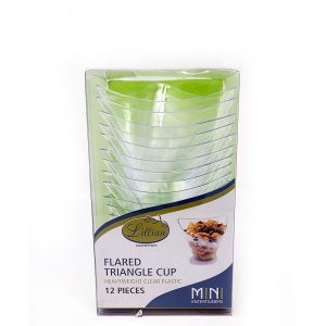 Mini Flared Triangle Cup
