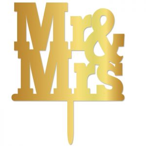 Mr & Mrs Bold Topper