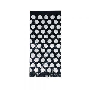 Bolsa Celofán – Negra Dots