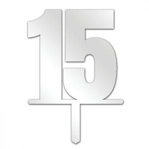 Number 15 Topper
