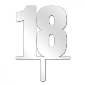Number 18 Topper