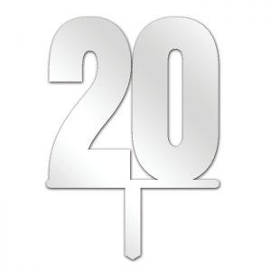 Number 20 Topper