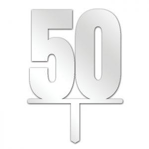 Number 50 Topper