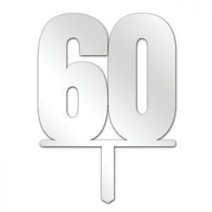 Number 60 Topper