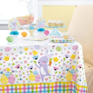 Plaid Easter Mantel Rectangular