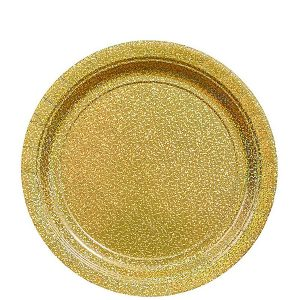 Oro Prismatico Plato Postre