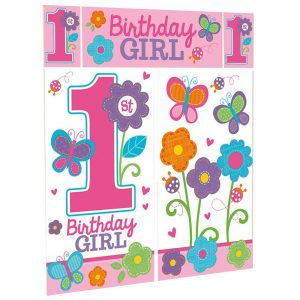 1st Birthday Girl Sweet Wall Decor