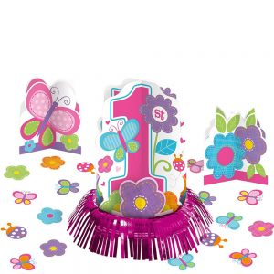 1st Birthday Girl Sweet Table Decor