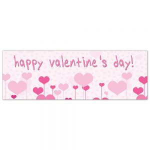 Valentine´s Day Sweet Hearts Banner (Copy)