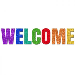 Welcome Colores – Glitter Banner