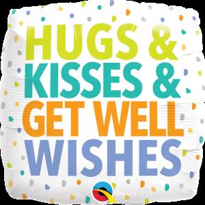 Globo Get Well Hugs & Kisses
