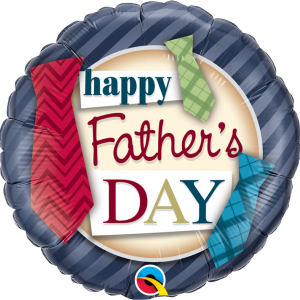 Globo Happy Father's Day Tie Balloon