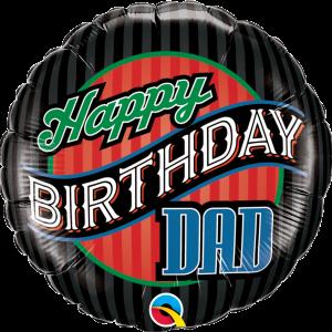 Globo Birthday Dad
