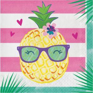 Pineapple n Friends Servilleta Lunch