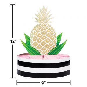 Gold Pineapple Centerpiece