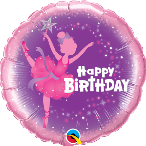 Globo Birthday Ballerina