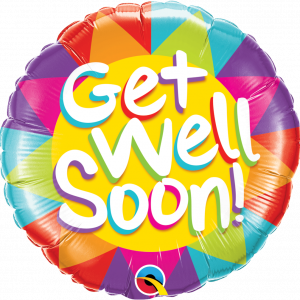 Globo Get Well Colorful Star