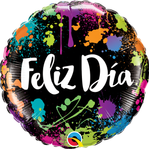 Globo Feliz Dia Splash