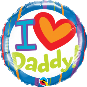 Globo I Love You Daddy