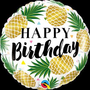 Globo Birthday Pineapples