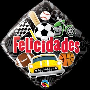 Globo Birthday Sports