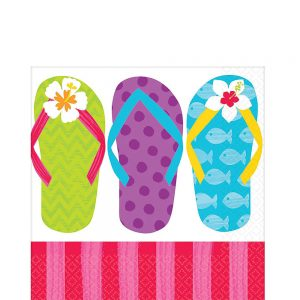 Flip Flop Summer Servilleta Coctel
