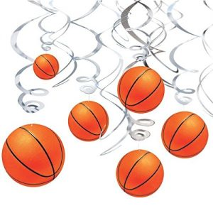 Basketball Espirales Decorativos