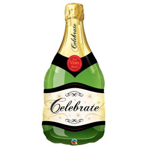Globo Birthday Celebrate Bottle